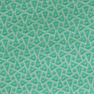 Jacquard Triangles pattern green