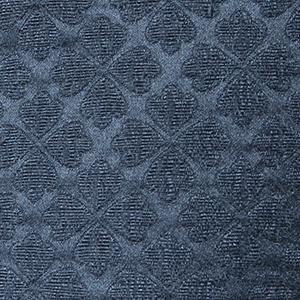 Black jacquard with clover pattern